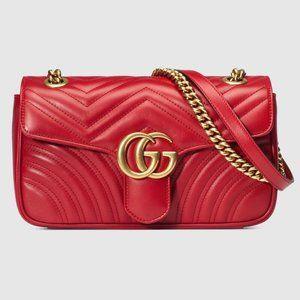 GUCCI GG Marmont Gmall Matelassé Mini Bag rinouez